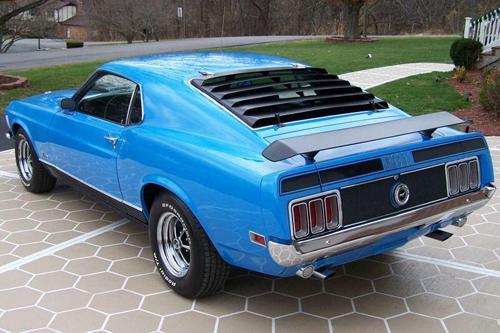 1970 Grabber Blue Mach 1