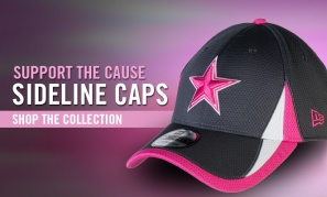 2013 Dallas Cowboys Breast Cancer Awareness Hat Email Ad