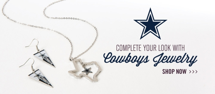 2014 Dallas Cowboys Jewelry Web Banner