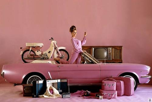 Playboy Pink Mustang