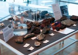 Hellisheiði Power Station - Lava Rock Display