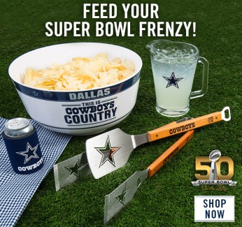 2016 Dallas Cowboys Super Bowl 50 Ad