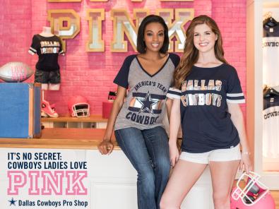 2015 Dallas Cowboys PINK Campaign - Facebook Post