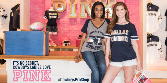 2015 Dallas Cowboys PINK Campaign - Twitter Post