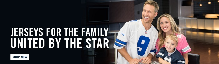 2015 Dallas Cowboys Family of Jerseys Campaign - Homepage Banner