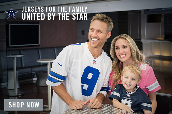 2015 Dallas Cowboys Family of Jerseys Campaign - Modal