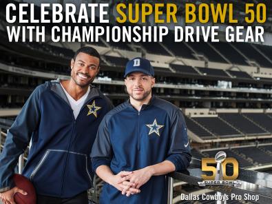 2015 Dallas Cowboys Gold Collection Campaign - Facebook Post