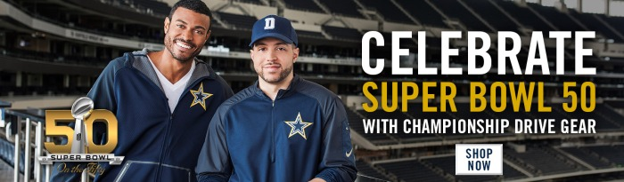 2015 Dallas Cowboys Gold Collection Campaign - Homepage Banner