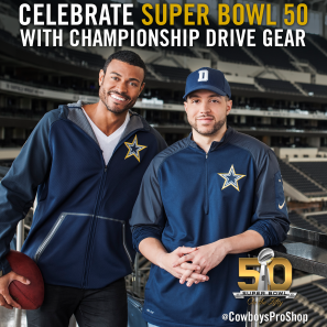 2015 Dallas Cowboys Gold Collection Campaign - Instagram Post