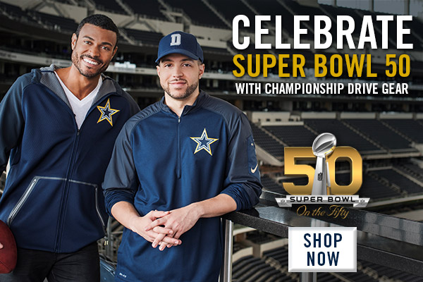 2015 Dallas Cowboys Gold Collection Campaign - Modal