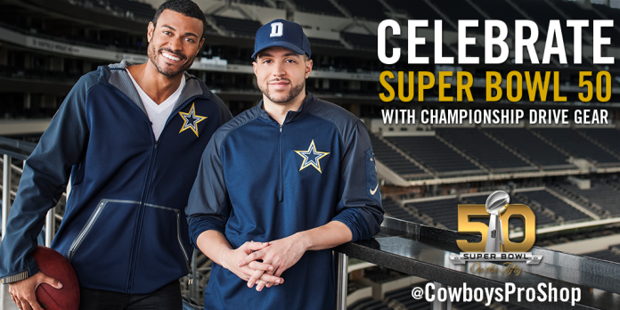 2015 Dallas Cowboys Gold Collection Campaign - Twitter Post