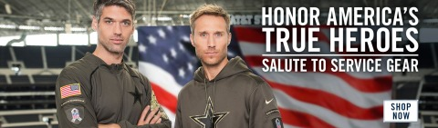 2015 Dallas Cowboys Salute to Service - Homepage Banner