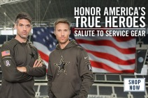 2015 Dallas Cowboys Salute to Service - Modal