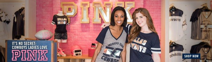 2016 Dallas Cowboys PINK Campaign - Homepage Banner