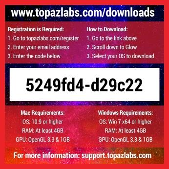 Topaz Labs Glow - Back