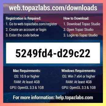 Topaz Labs Topaz Studio - Back